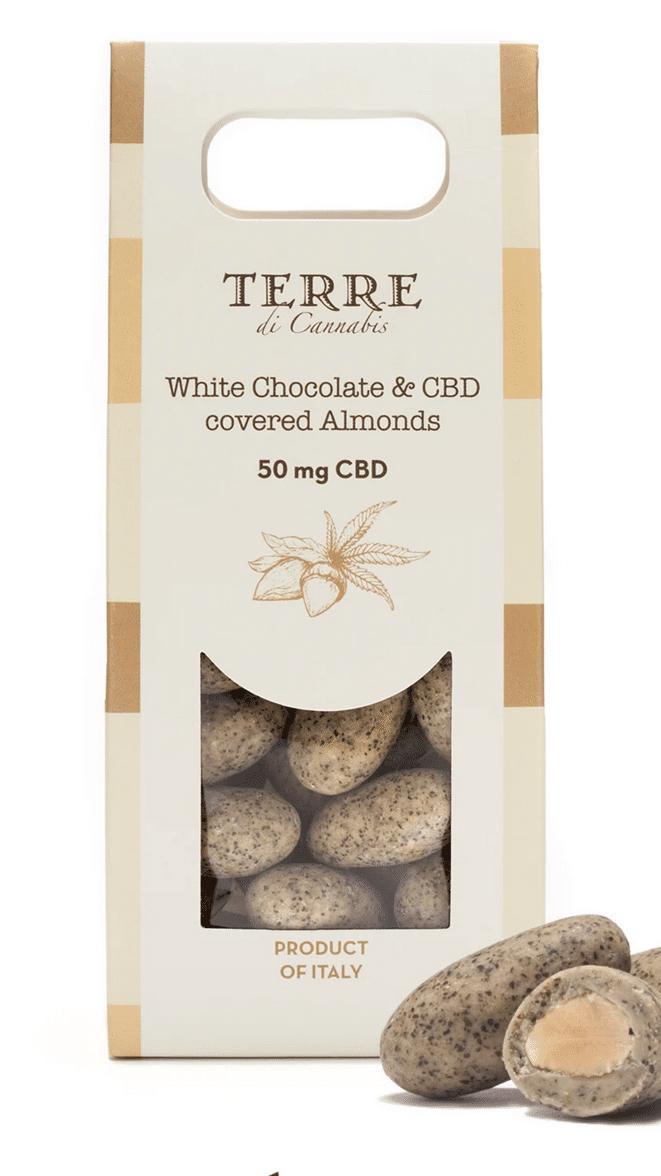 Amandes de Sicile, chocolat et CBD- Great and Green
